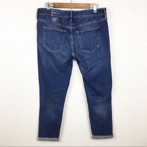 GAP mid rise, skinny ankle jean. Very Stretchy.